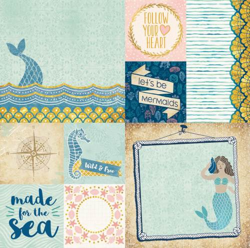 Down By The Sea Paper Paradise