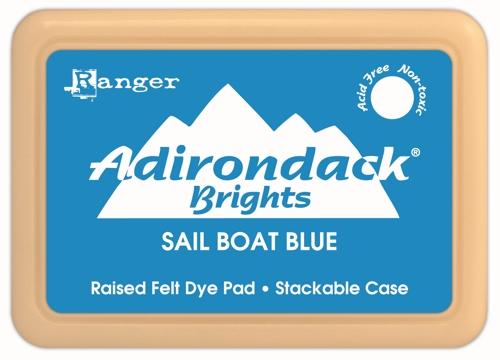 Bright - Sail Boat Blue