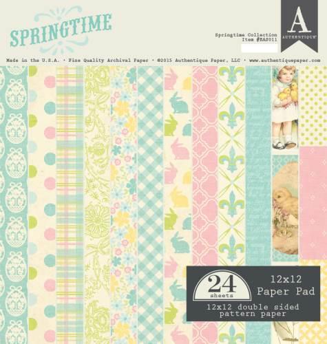 Springtime 12x12 Paper Pad