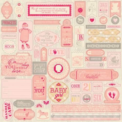 Cuddle Girl 12x12 Details sticker