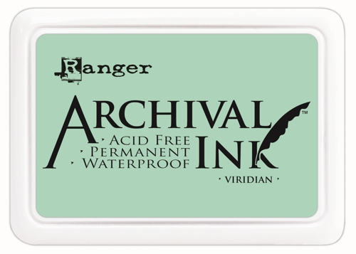 Archival Ink Pad - VIRIDIAN