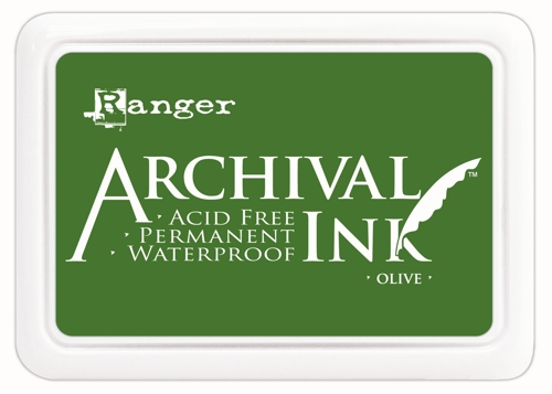 Archival Ink Pad - OLIVE