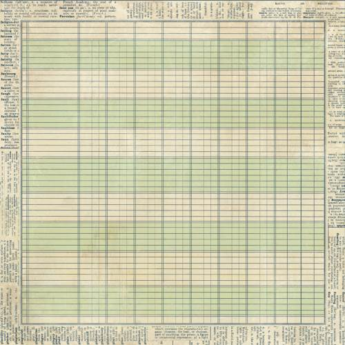 Heritage patterned paper
