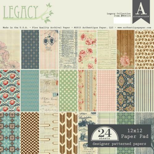 Legacy 12x12 paper pad
