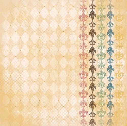 Provence Harlequin Paper