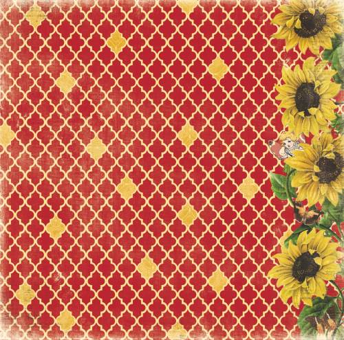 Enchanted Harvest Sunflowers Paper