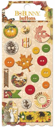 Enchanted Harvest Buttons