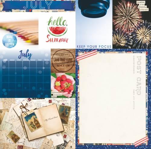 Calendar Girl July Paper