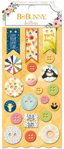 Calendar Girl Buttons