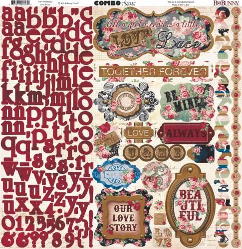 Love & Lace Combo Sticker