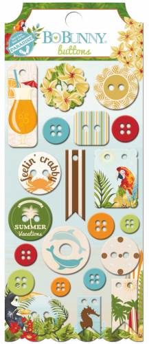 Beach Therapy Buttons