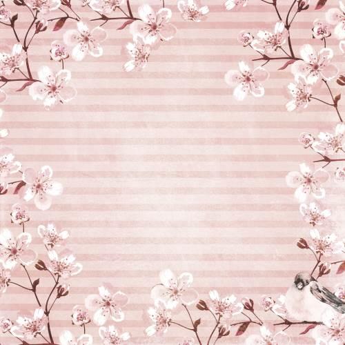 Secret Garden Wreath Paper