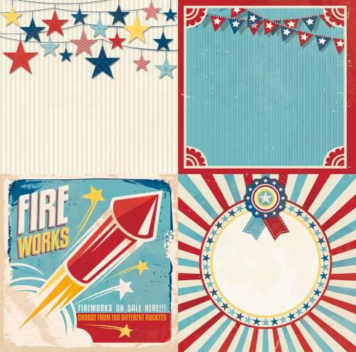 Firecracker Parade Paper