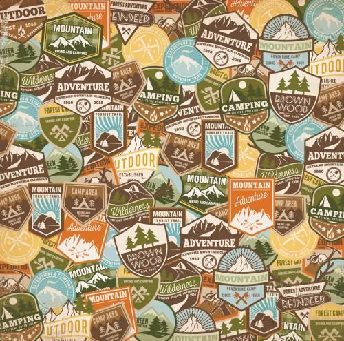 Take a Hike Trekkin' Paper