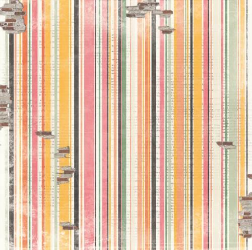 Aryias Garden Stripe Paper