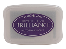 Victorian Violet Brilliance Ink Pad