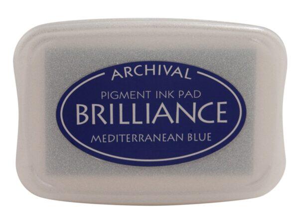 Mediterranean Blue Brilliance Ink Pad