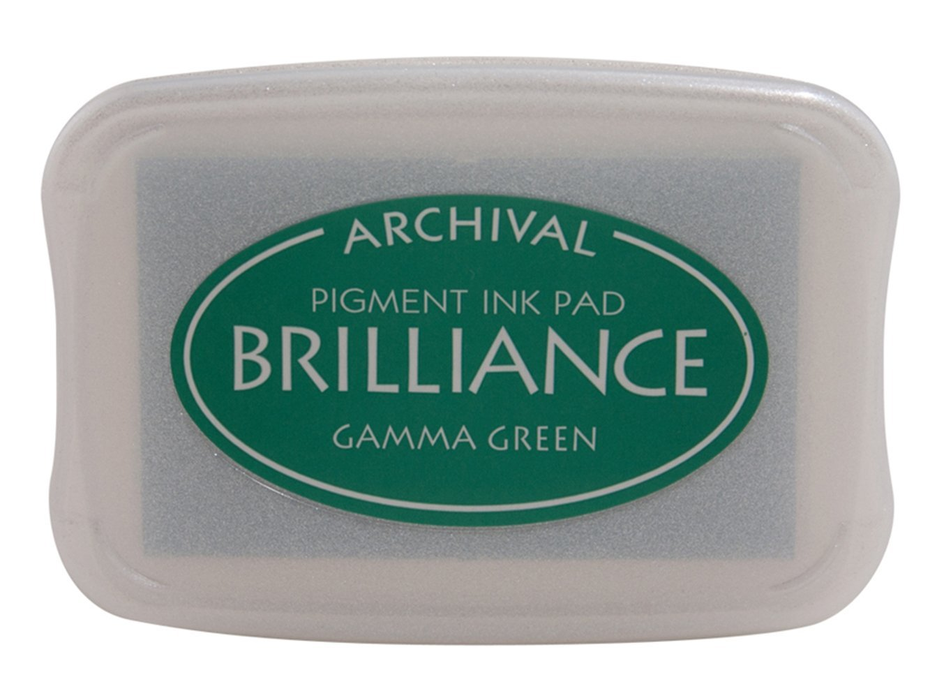 Gamma Green Brilliance Ink Pad
