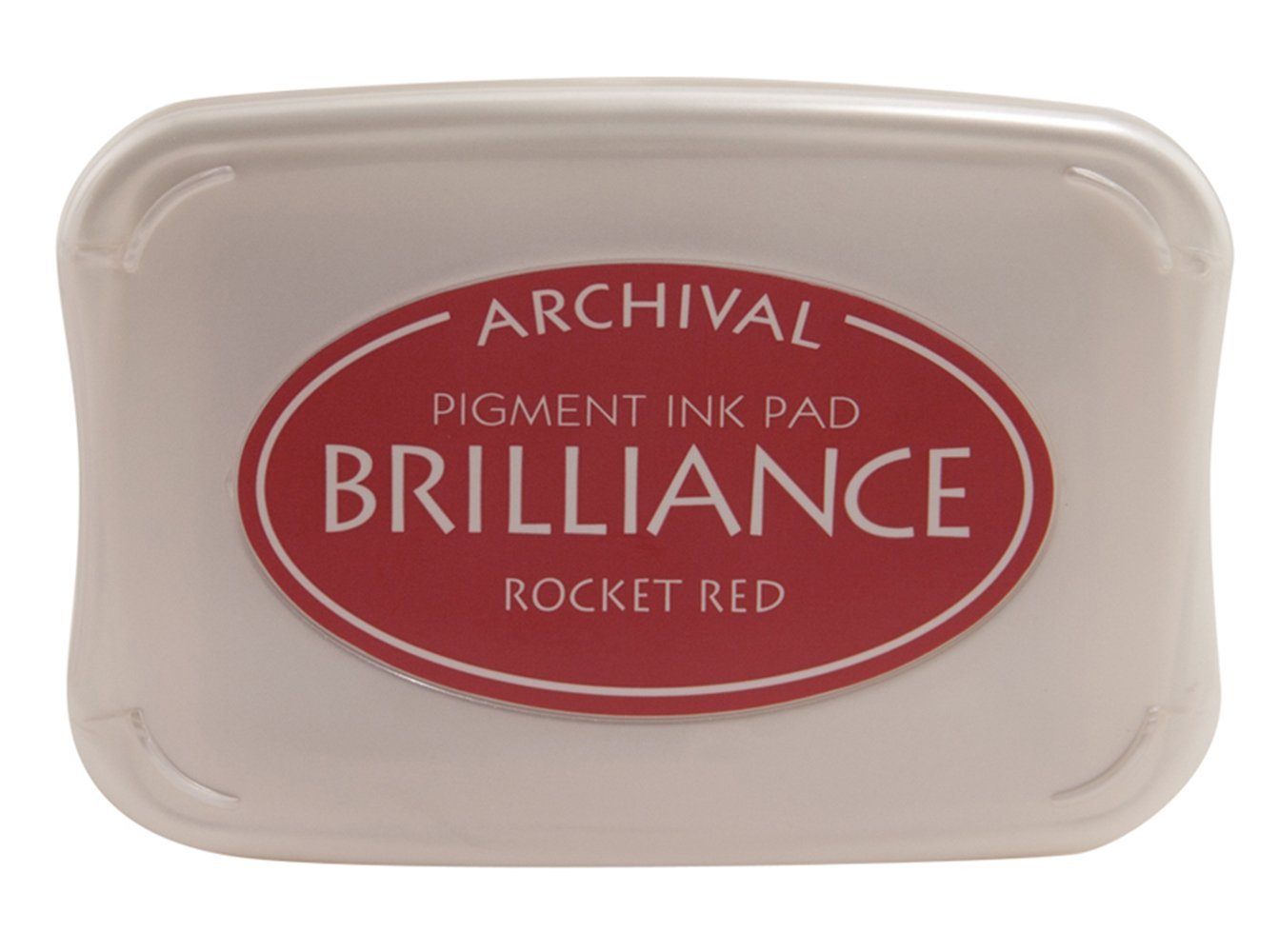 Rocket Red Brilliance Ink Pad
