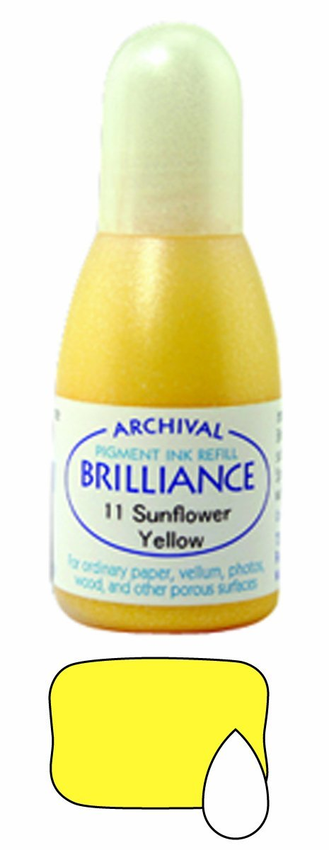 Pearlescent Yellow Brilliance Ink Pad