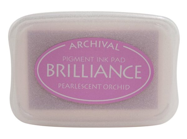 Pearlescent Orchid Brilliance Ink Pad