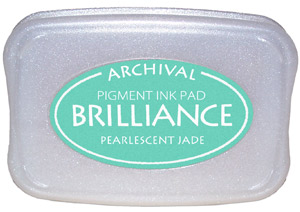 Pearlescent Jade Brilliance Ink Pad