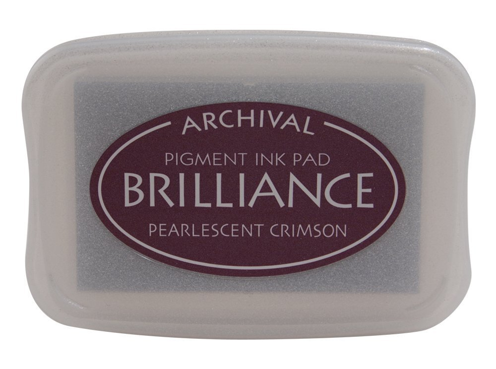 Pearlescent Crimson Brilliance Ink Pad