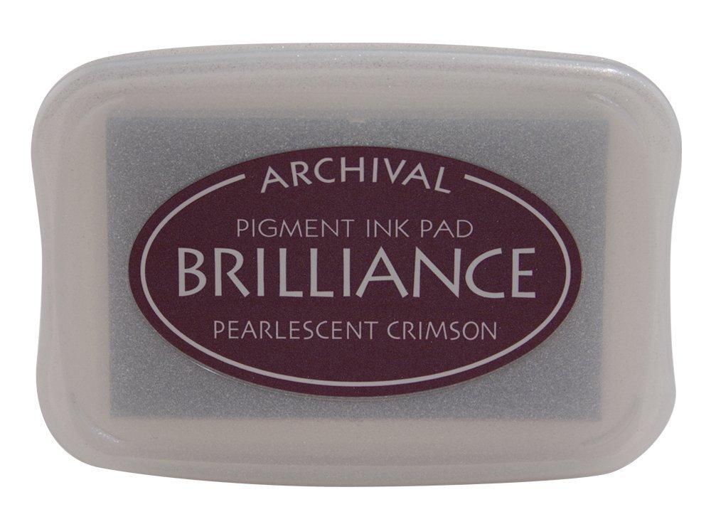Pearlescent Crimson Brilliance Ink Pad