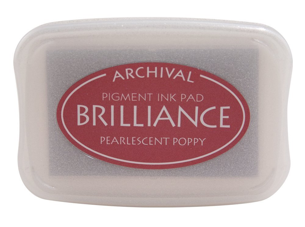Pearlescent Poppy Brilliance Ink Pad