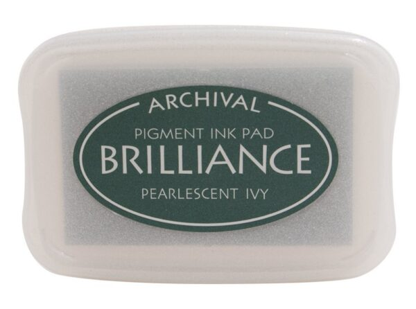 Pearlescent Ivy Brilliance Ink Pad