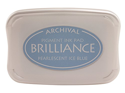 Pearlescent Ice Blue Brilliance Ink Pad