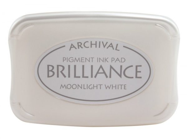 Moonlight White Brilliance Ink Pad