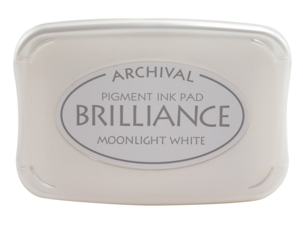 Moonlight White Brilliance Ink Pad