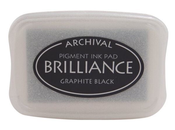 Graphite Black Brilliance Ink Pad