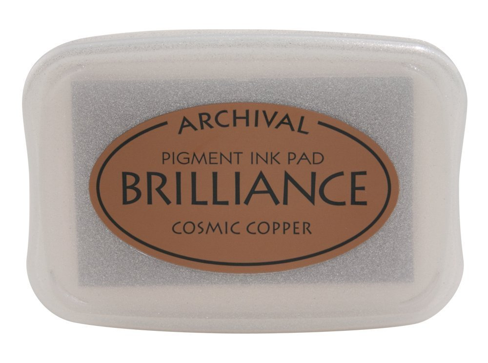 Cosmic Copper Brilliance Ink Pad
