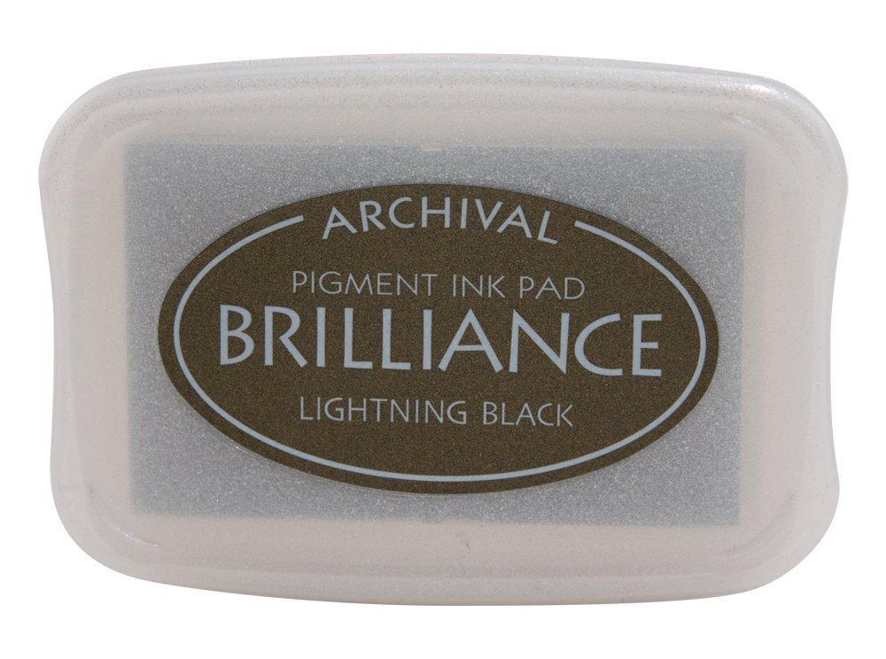 Pearlescent Lightning Black Brilliance Ink Pad