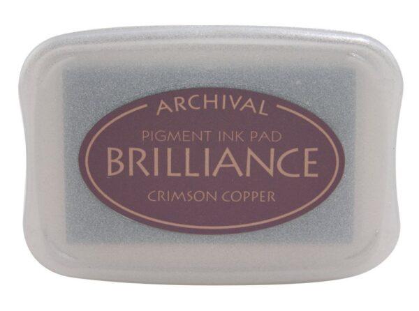 Crimson Copper Brilliance Ink Pad
