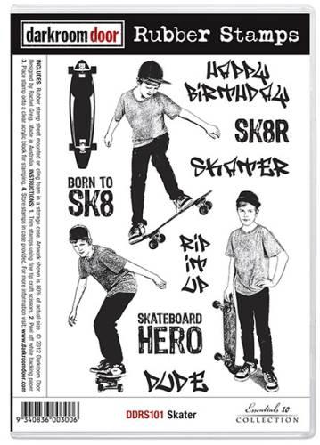 Skater Stamp