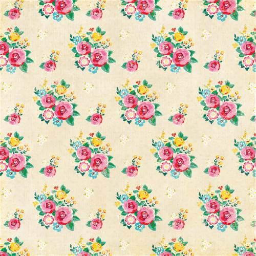 HIH Fresh Baked Floral Paper