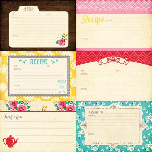 HIH 4x6 Journaling Cards Paper