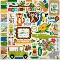 Jungle Safari Element Sticker