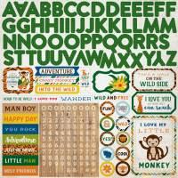 Jungle Safari Alpha Sticker