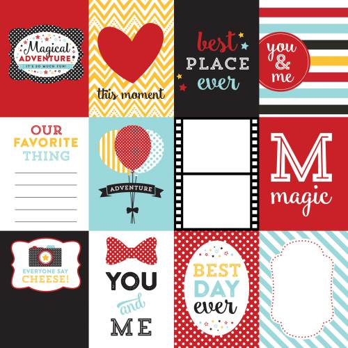 Magical Adventure 3X4 Journaling Cards Paper