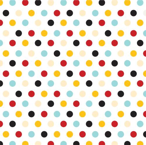 Magical Adventure Multi Dots Paper