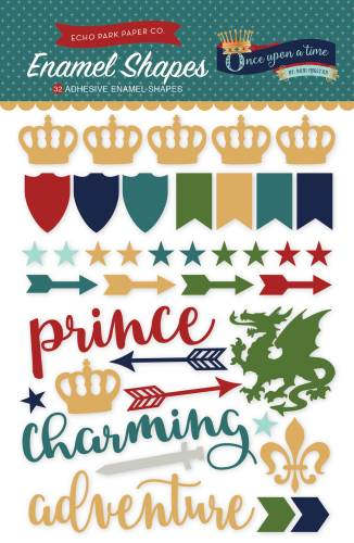 Once Upon a Time Prince Enamel Shapes