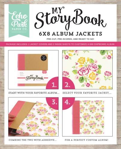 Floral 6X8 Album Jacket