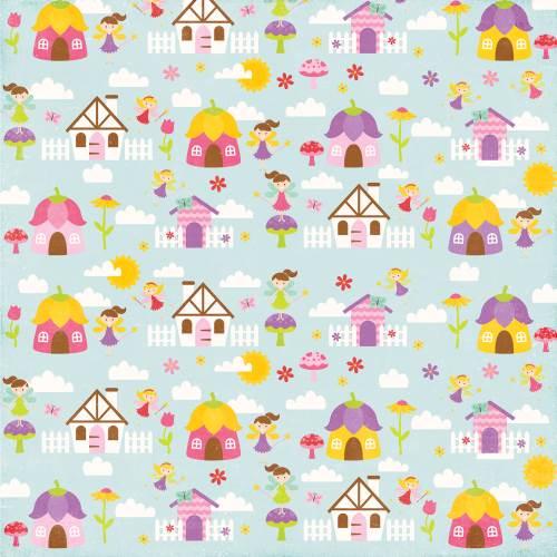 Fairy Village Paper