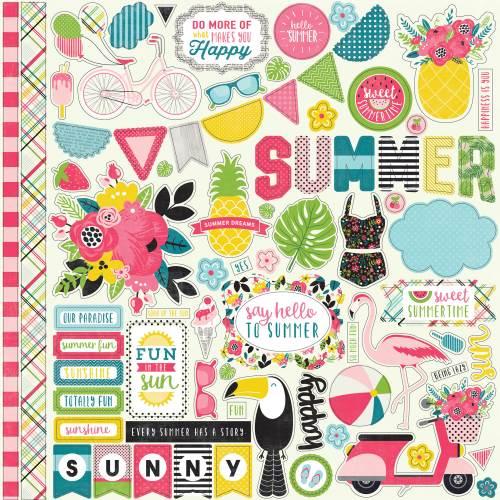 Summer Fun Element Sticker