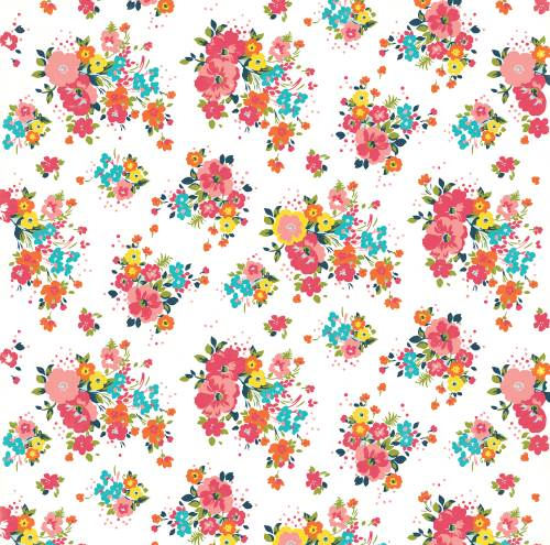 Summer Party - Blazing Floral Paper