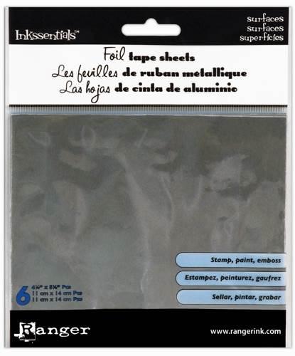 METAL FOIL TAPE SHEETS 4.25X5.5